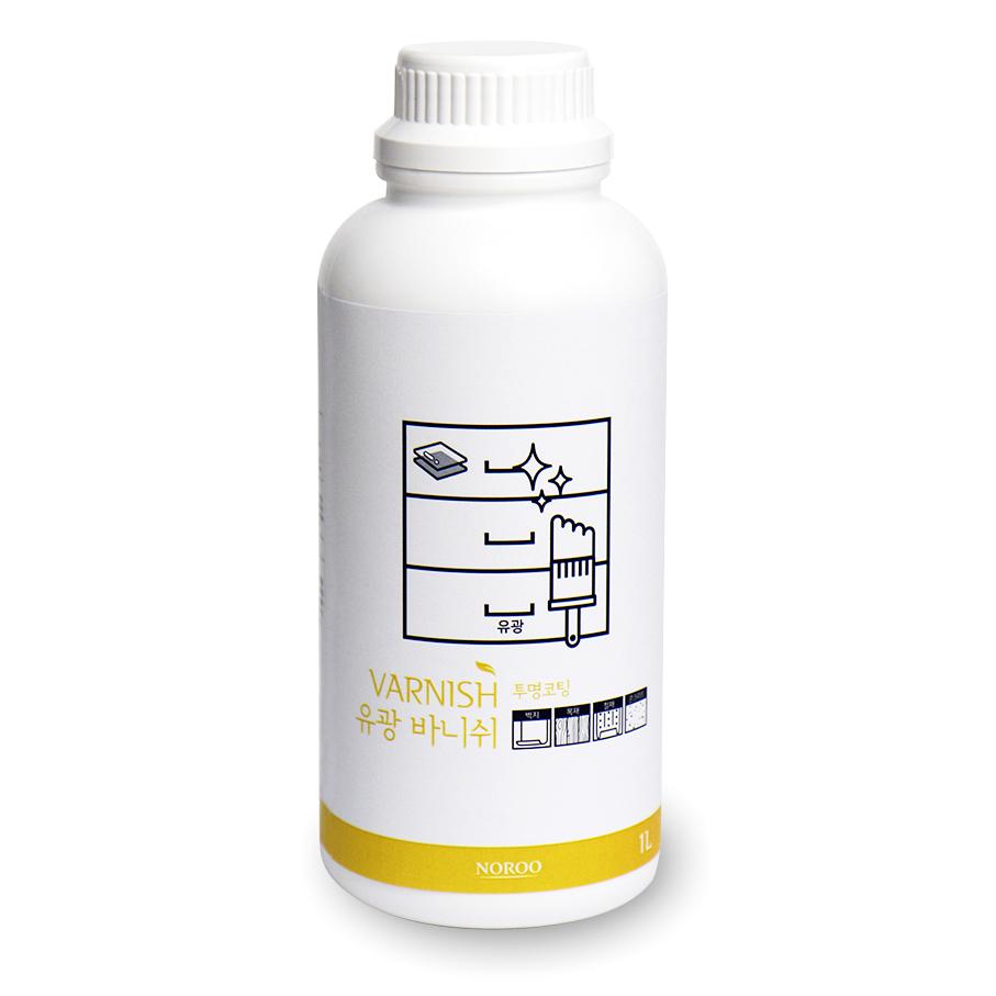 노루페인트 바니쉬 유광 1L, 1개