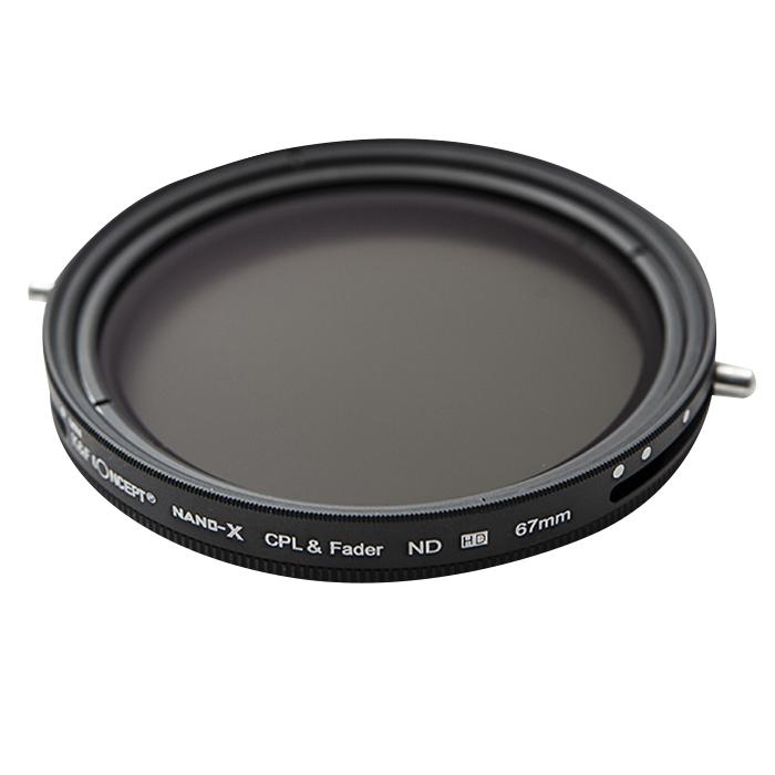 케이앤에프컨셉 NANO-X CPL + FADER ND 가변ND필터 OPTIC 67mm