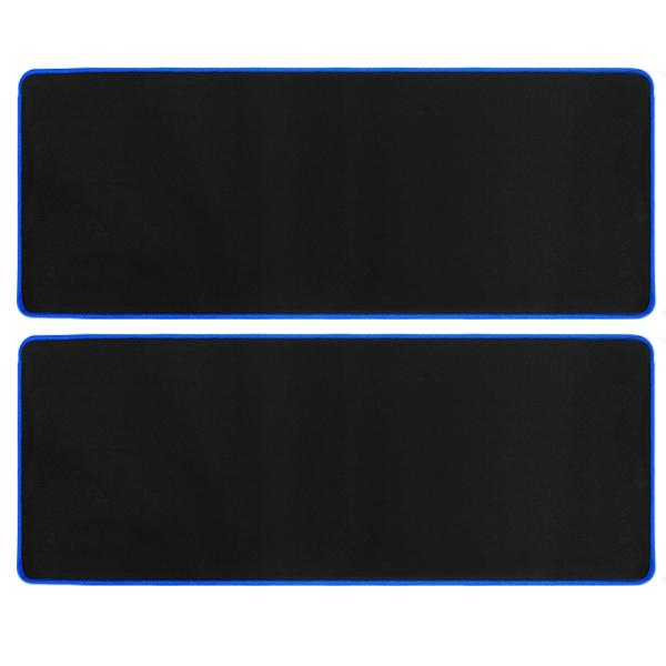칼론 초대형 마우스패드 OKP-L8000, 블랙 + 블루, 2개입