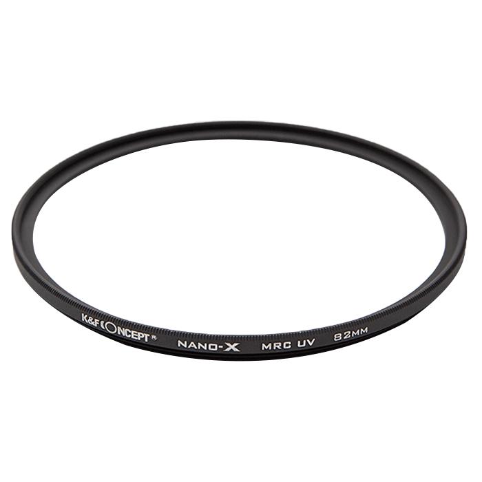 케이앤에프컨셉 NANO-X Slim MRC UV 카메라 필터 독일 SCHOTT B270 OPTIC 82mm