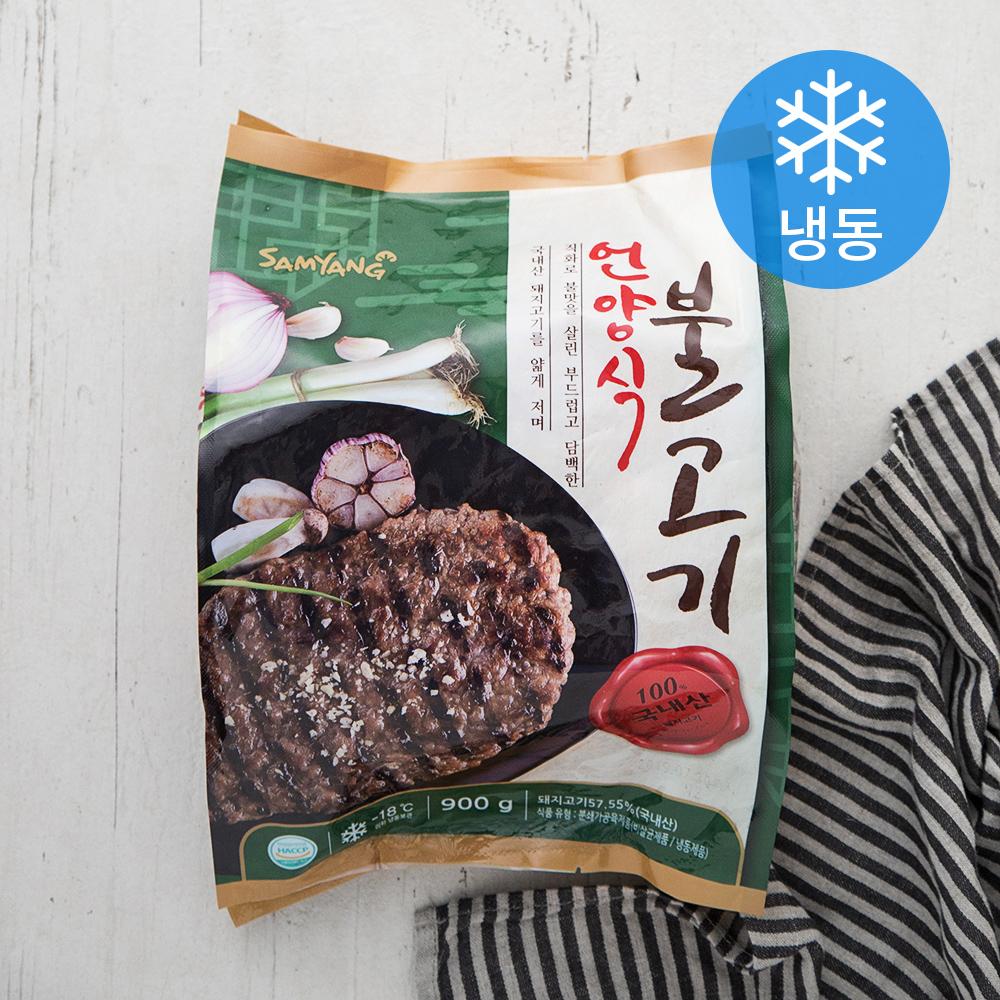 [언양식] 삼양 언양식불고기 (냉동), 900g, 1개 - 랭킹5위 (8270원)