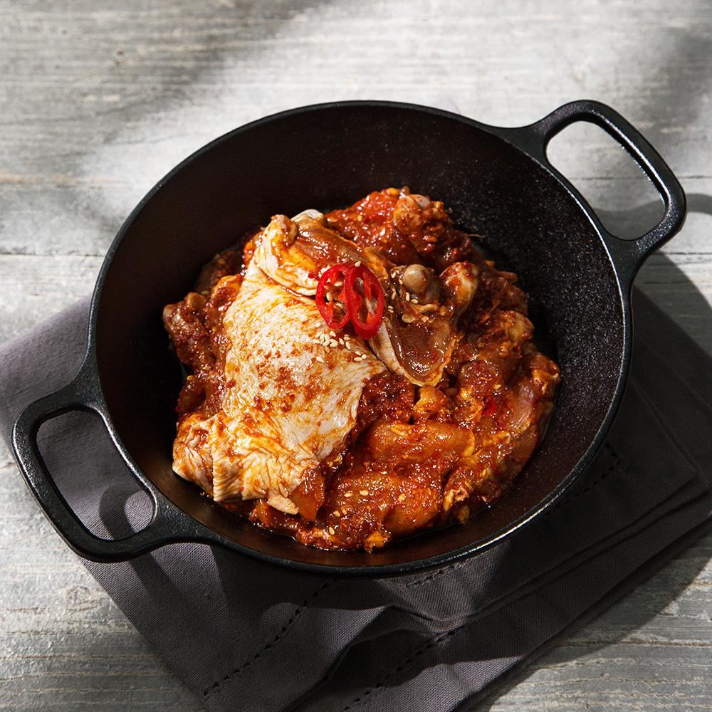 요리락 국내산 춘천식닭갈비구이 (냉장), 1kg, 1개