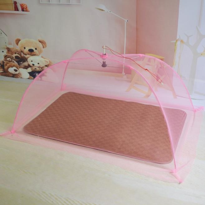 이지웜 모기퇴치 아기 모기장, 핑크