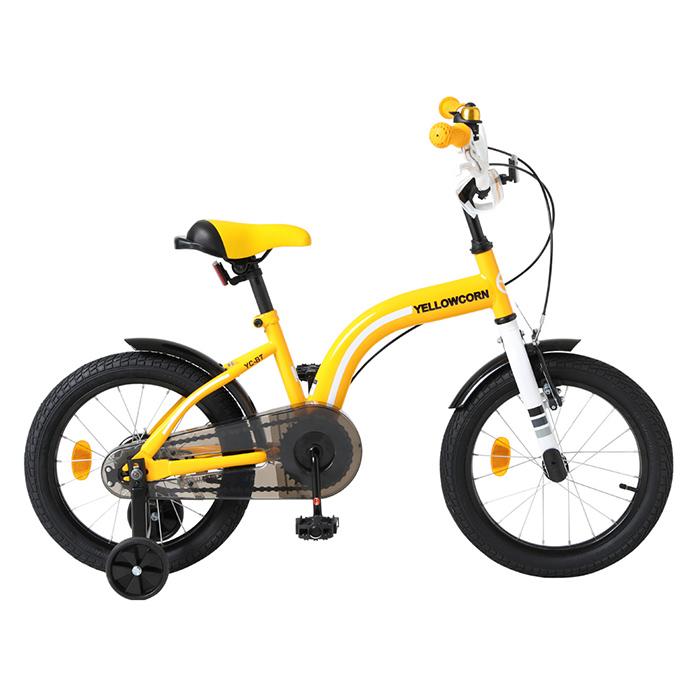 옐로우콘 어린이 자전거 BT 옐로우