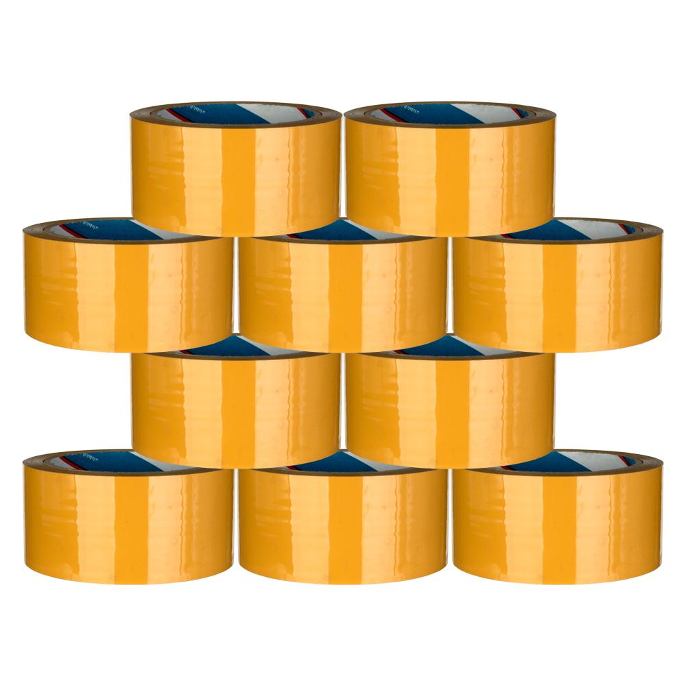 대박테이프 황색 박스테이프 48mm x 40m, 10개입