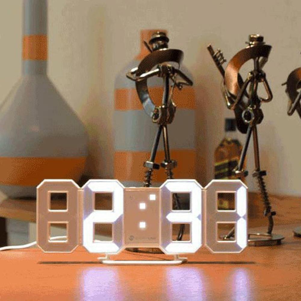 스토리링크 타임캡슐 미니 3D LED 시계, 혼합 색상