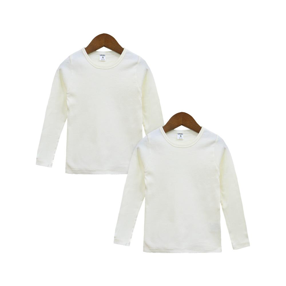 유라비 아동용 후라이스 라운드 티셔츠 2p