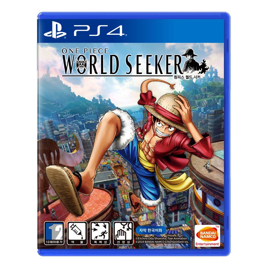 소니 PS4 원피스 월드 시커 한글판 게임