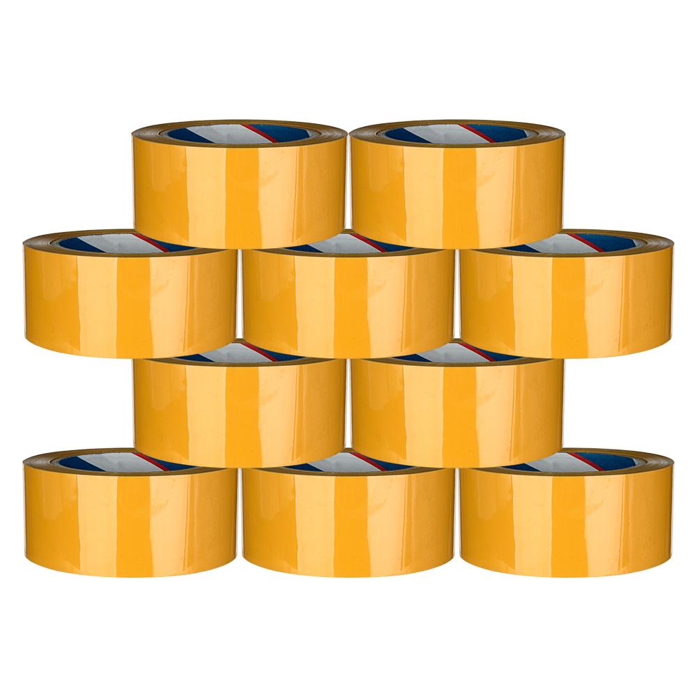 대박테이프 황색 박스테이프 48mm x 100m, 10개입