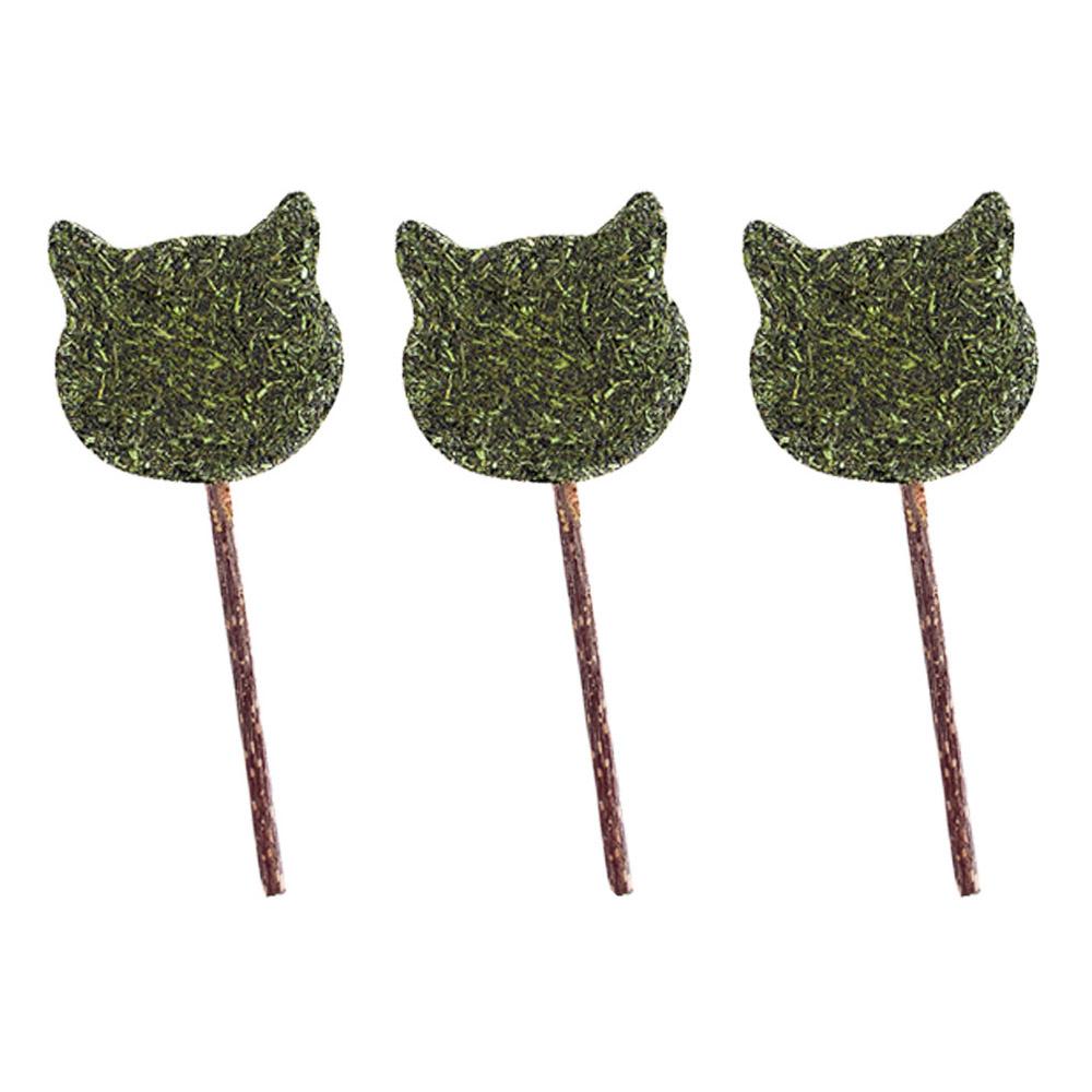 뽀마 고양이 캣닢캔디 막대형 고양이, 캣닢, 3개입