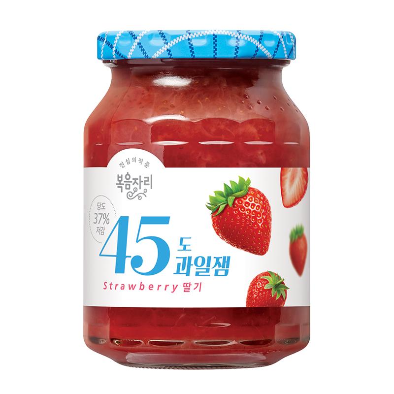 복음자리 45도 과일잼 딸기, 350g, 1개