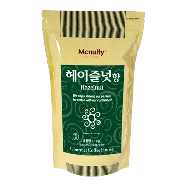 맥널티 홀빈 헤이즐넛, 홀빈(분쇄안함), 1000g