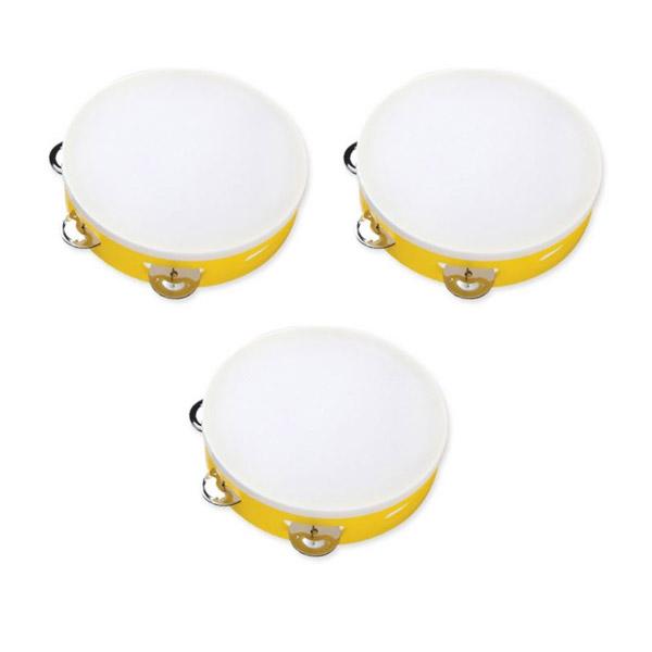 엔젤악기 탬버린 APT-7P 3p, Yellow
