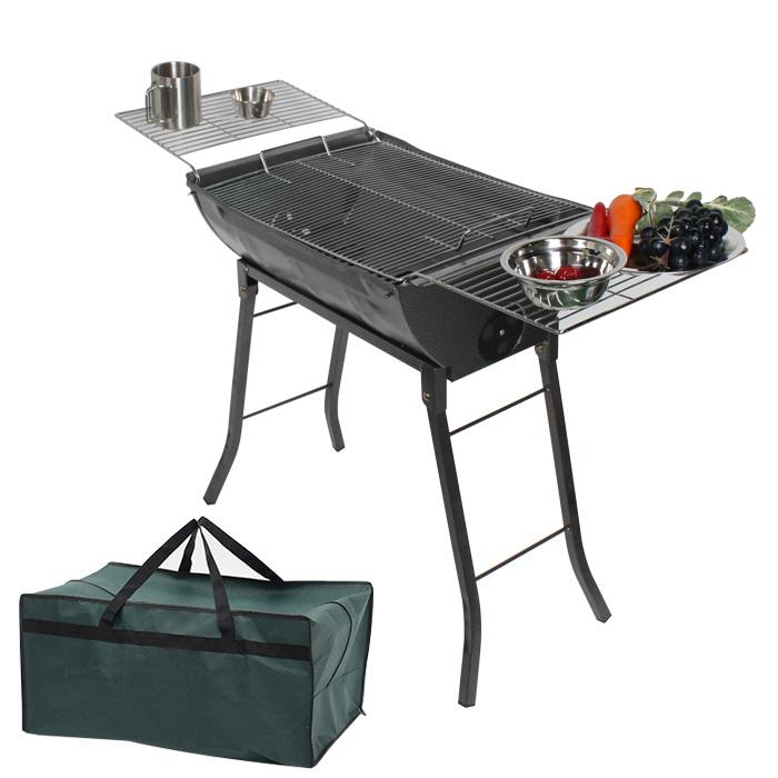데이브렉 가족형 바베큐그릴 테이블 + 보관가방, 1세트-13-201953285