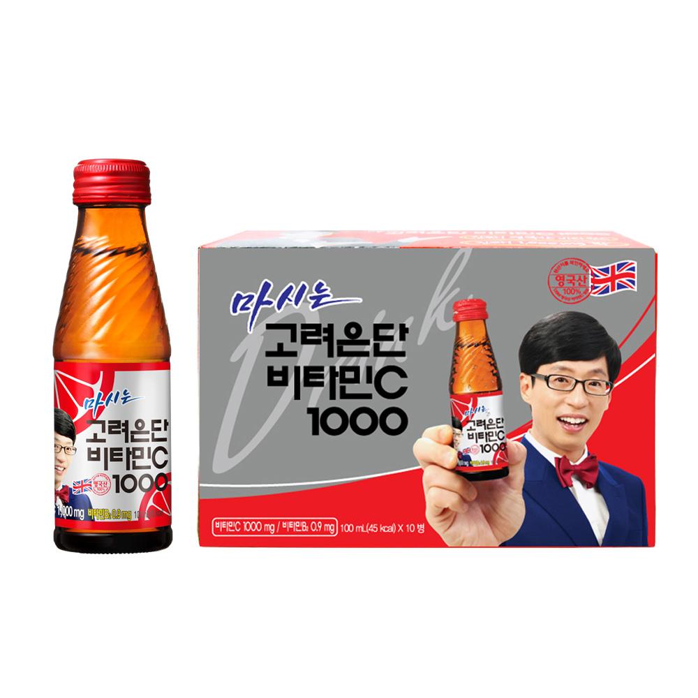 고려은단 마시는 비타민C 1000, 100ml, 10개입