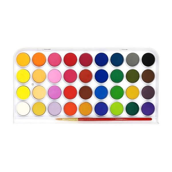 조르조네 고체 수채화 물감, 242g, 36색