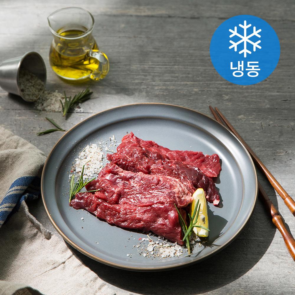 오가니아 호주산 유기농인증 소고기 치마살 (냉동), 300g, 1개