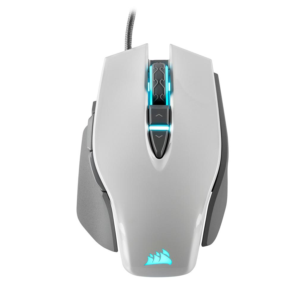 커세어 M65 RGB ELITE 마우스 RGP0072, White