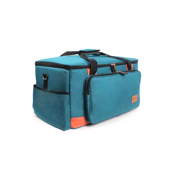 벅703 프리미엄 에코 캠핑가방 80L, 혼합 색상, 1개