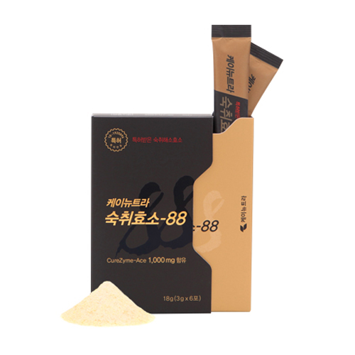 케이뉴트라 숙취효소-88 3g, 6개