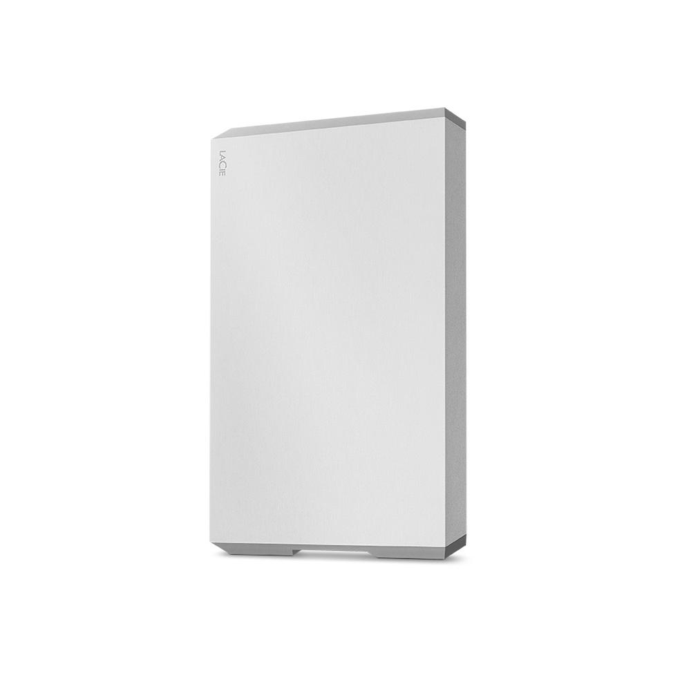 LaCie Mobile Drive USB C 외장하드 STHG1000400 + 어도비 1개월 멤버쉽 이용권, 1TB, Silver