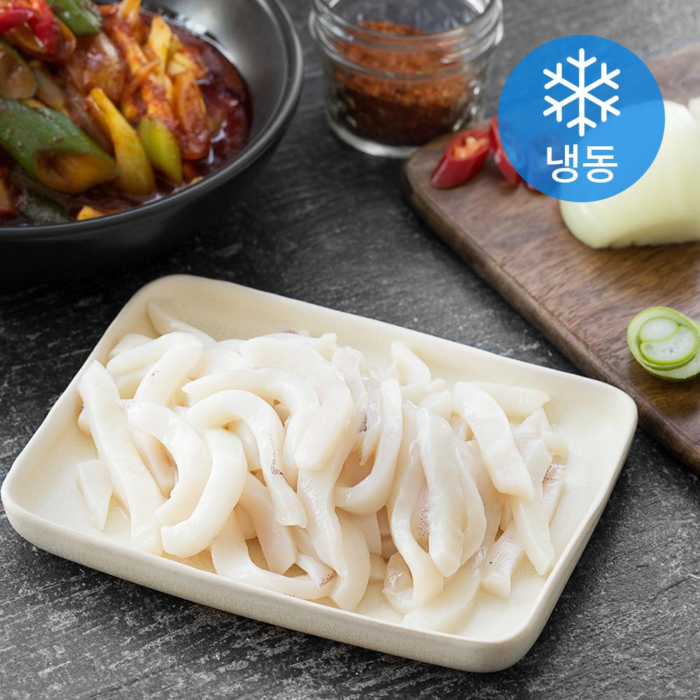 서풍 국산 오징어 몸통 슬라이스 (냉동), 400g, 1개