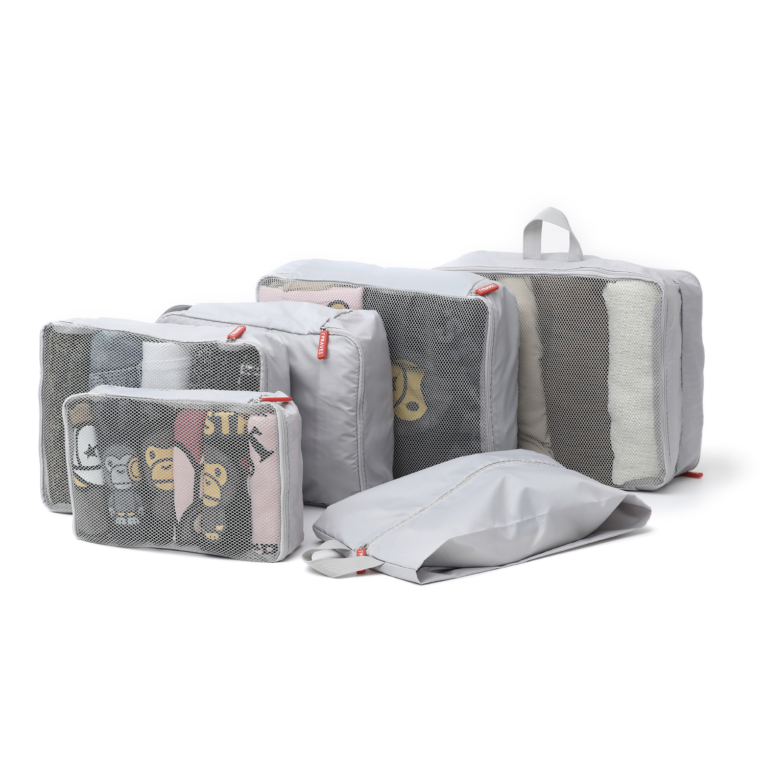 아이프라브 여행용파우치 트래블백 6종 세트 PRAV-7002