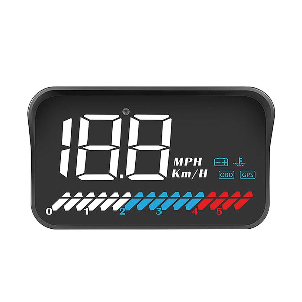 3S 자동차 HUD 헤드업디스플레이 계기판 OBD/GPS겸용 M7, 12V, 1개