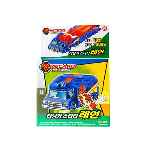빠샤메카드 터닝카 스타터 레인 로봇장난감, 혼합 색상