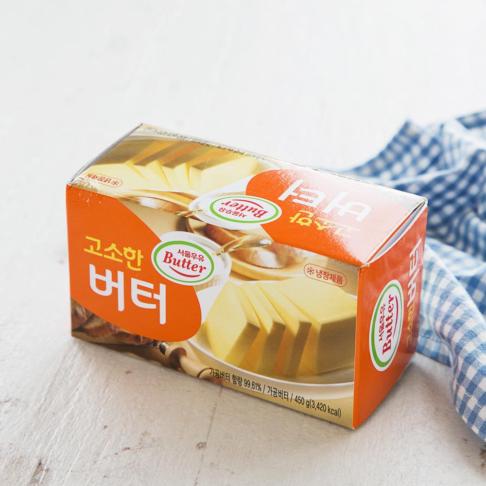 서울우유 고소한 버터, 450g, 1개