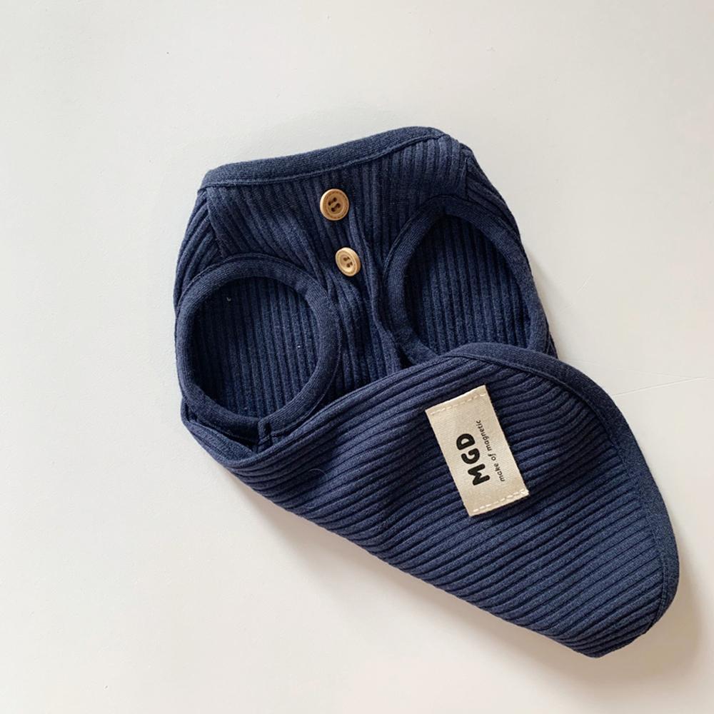 매그독 멜라인 반려동물 티셔츠, 블루