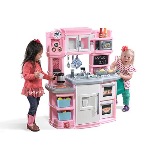 스텝2 그레이트 키친 놀이, 핑크