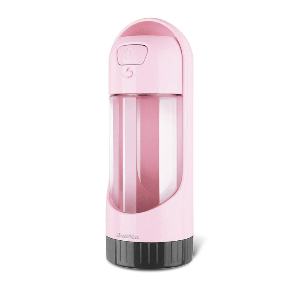 바비온 반려동물 캡슐 물병 300S, 핑크, 1개