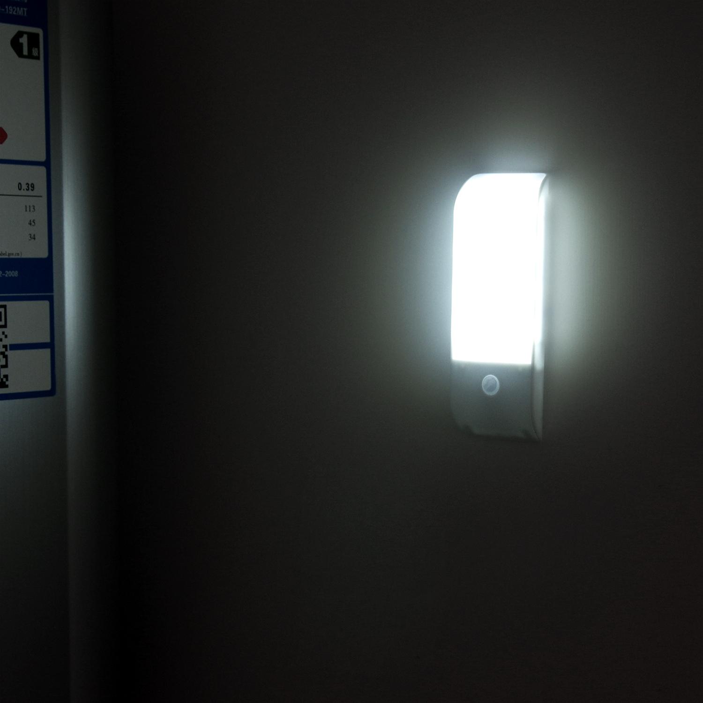 오슬로 충전식 미니 LED 하이브리드 센서등, 혼합 색상
