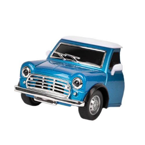 티켄 다이캐스트 미니카 차량용 방향제 블루 부케향, 1개입, 1개