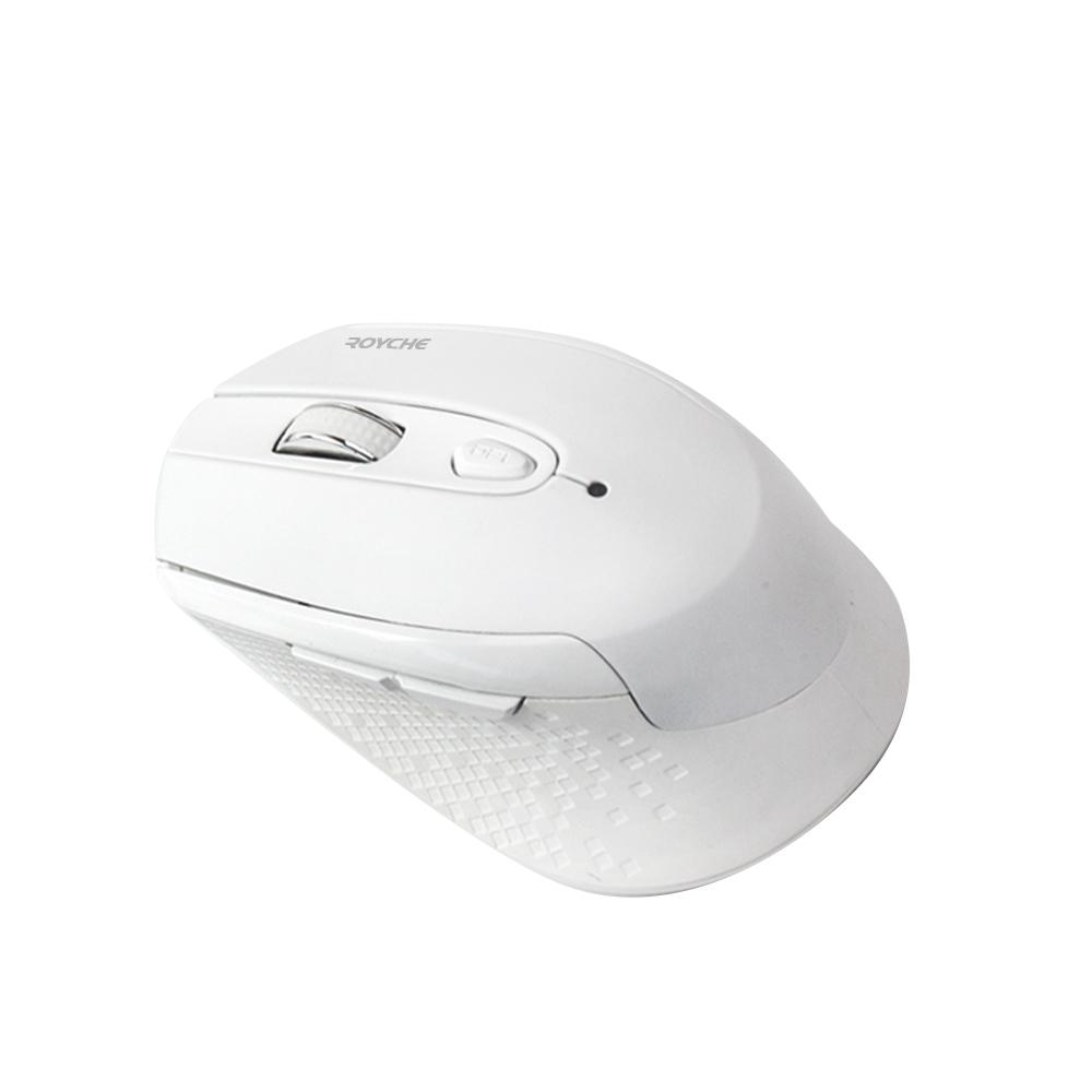 로이체 무소음 무선 옵티컬 마우스 RX-550, 화이트