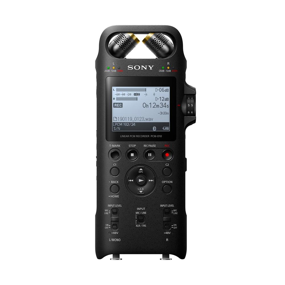 소니 전문가용 녹음기 PCM-D10, 혼합 색상