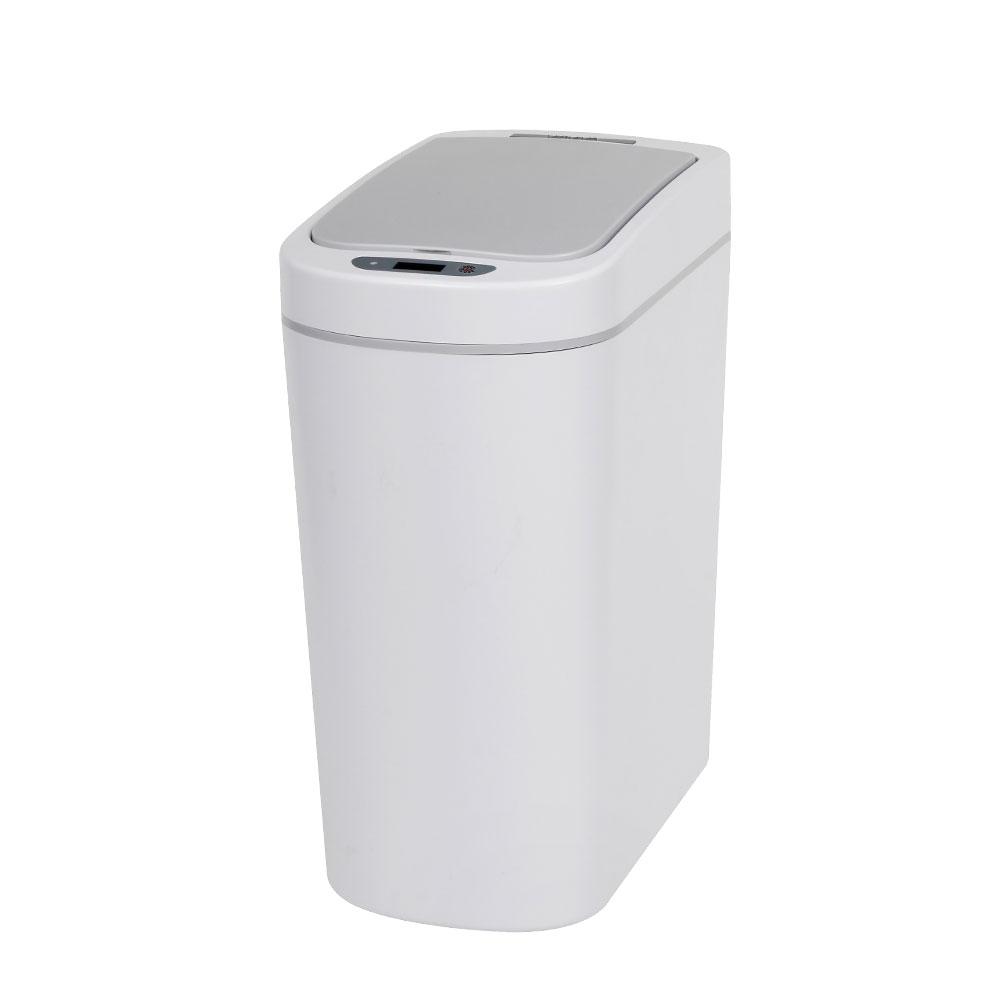 비스비바 스마트 센서 노터치 자동 휴지통 7L, 화이트, 1개