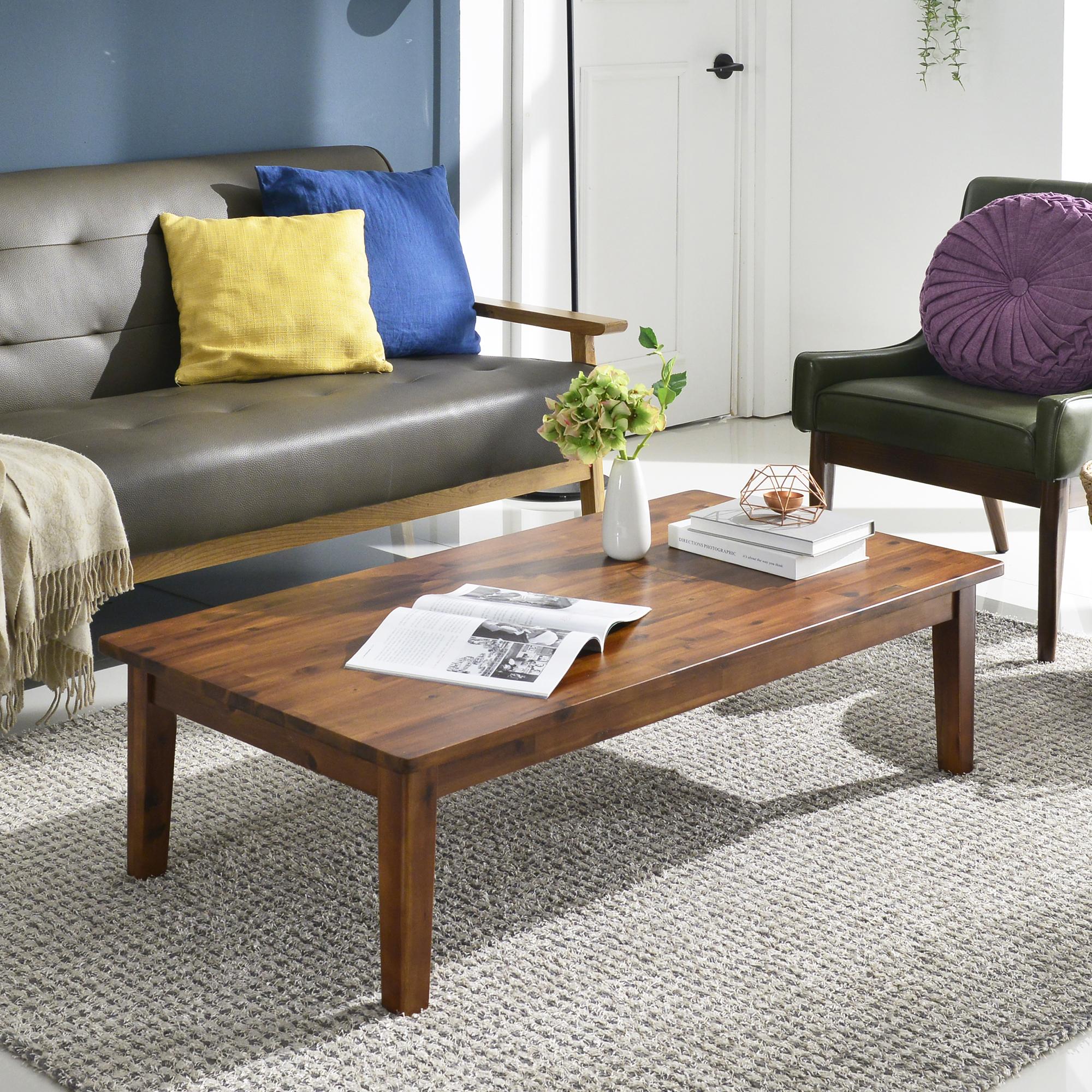 홈페리 아카시아 원목테이블 특대, 단일 색상