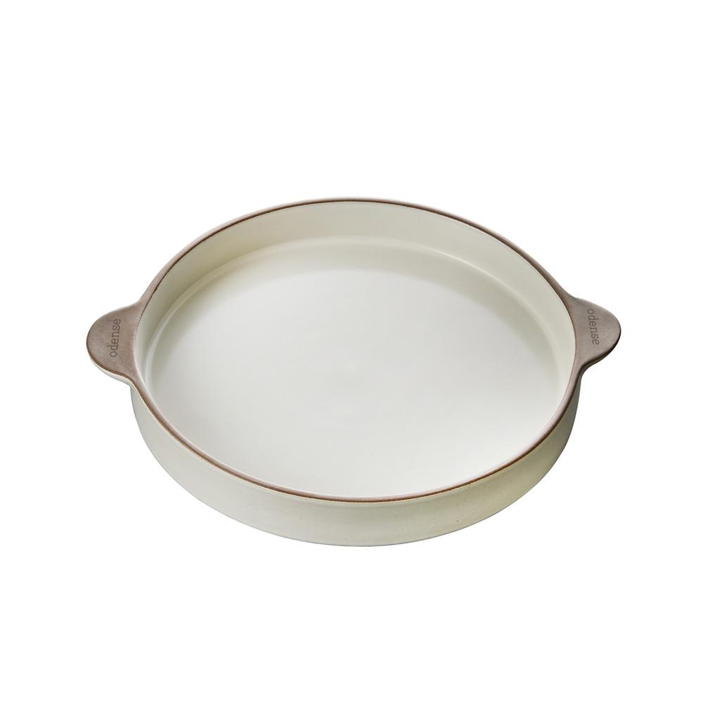 오덴세 레고트 라지 원형 접시, 바닐라크림