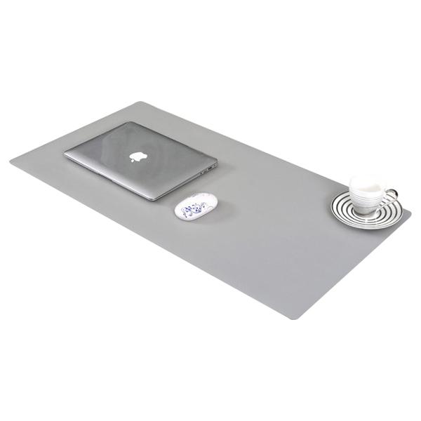 토디아 타비 와이드 책상 키보드 마우스 패드 80 x 40 cm, 그레이, 1개