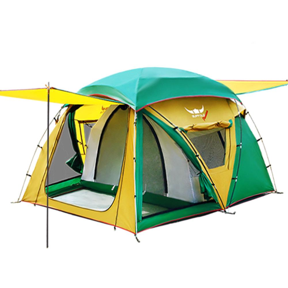 버팔로 프리미엄 마로니에 텐트, 혼합 색상, 3~4인용