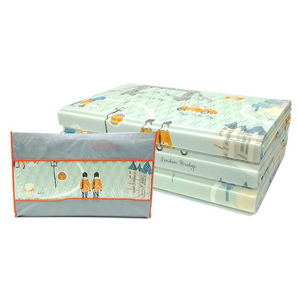 석코리아 3단 랜드마크 캠핑매트 + 전용가방, 민트