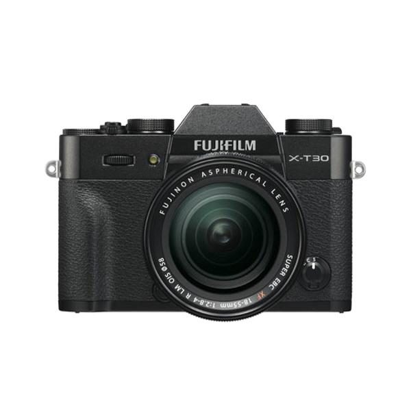 후지필름 미러리스 X-T30 카메라 + XF18-55mmF2.8-4 R LM OIS 렌즈 키트, X-T30(블랙)