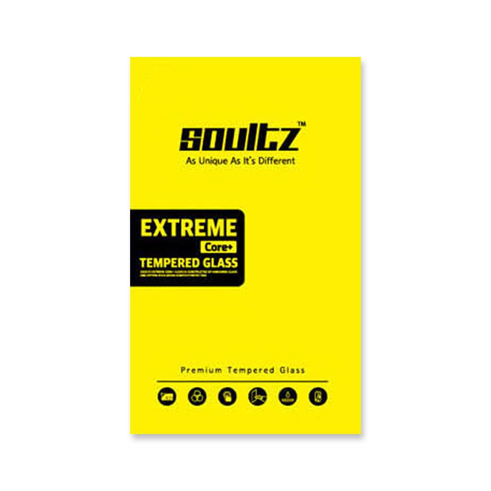 솔츠 강화유리 방탄 액정보호필름 2p, 단일 색상