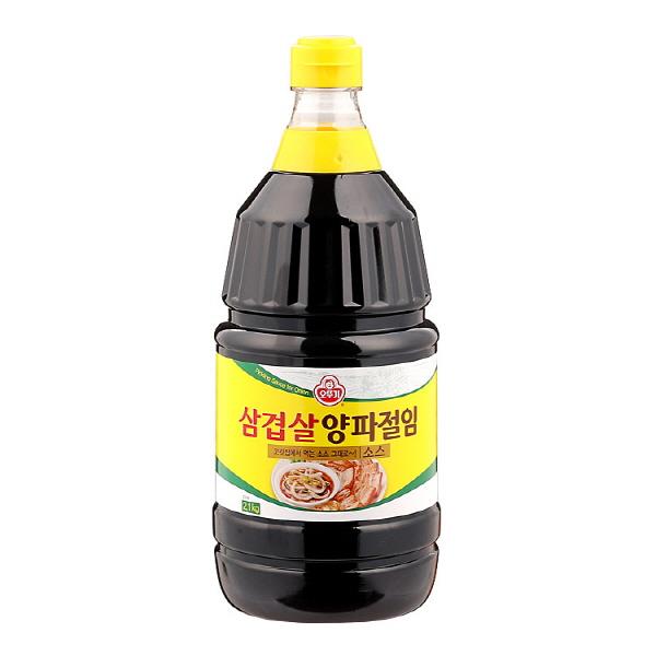 오뚜기 삼겹살 양파절임 소스, 2.1kg, 1개