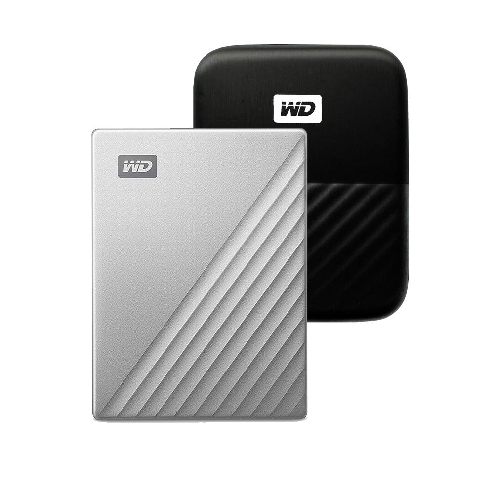 WD My Passport Ultra Type C 휴대용 외장하드 + 파우치, 1TB, 실버
