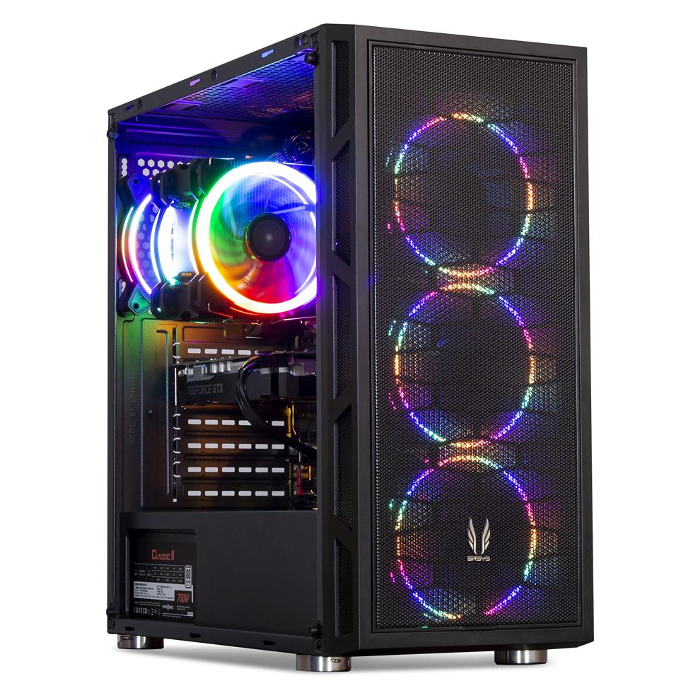 프리플로우 GAMING i7K RTX2060 조립PC (i7 9700KF WIN미포함 삼성16GB RTX2060 6GB SSD500GB), 단일 상품, 기본형