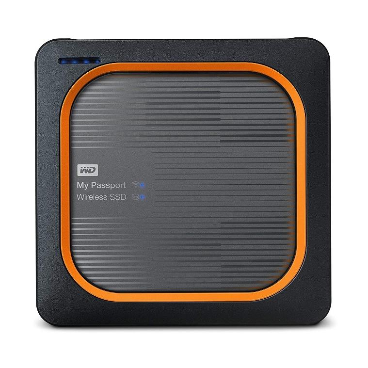 WD My Passport Wireless 외장SSD WDBAMJ5000AGY-PESN, 2TB, 혼합 색상