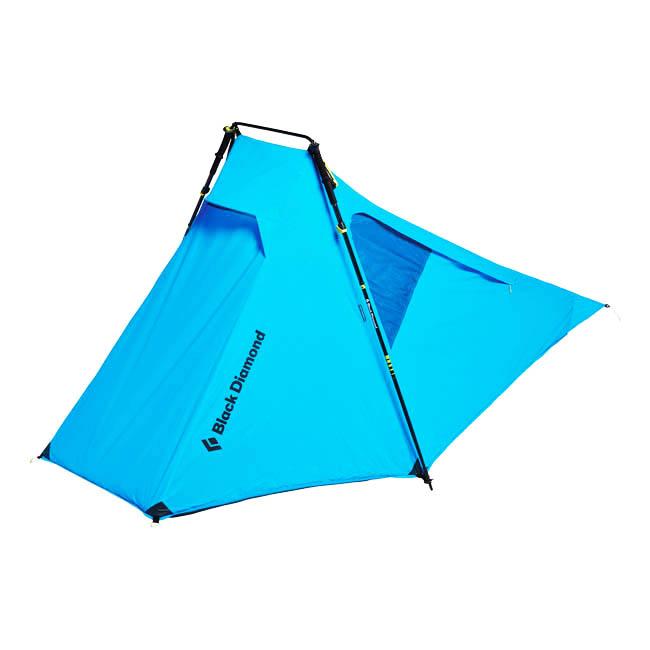 블랙다이아몬드 디스턴스 텐트 Z폴 팩, DISTANCE BLUE